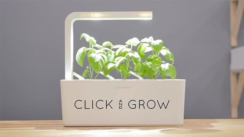 Изображение установки Click and Grow